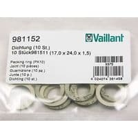 Уплотнительноекольцо паронитовых (10 шт.) Vaillant